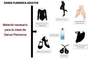 Material Danza Flamenca