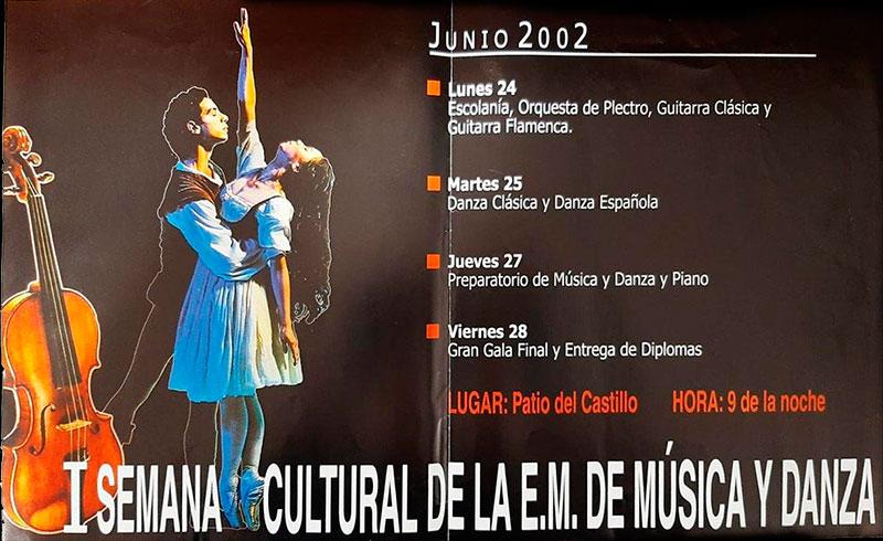 I Semana Cultural de la Escuela Municipal de Música y Danza