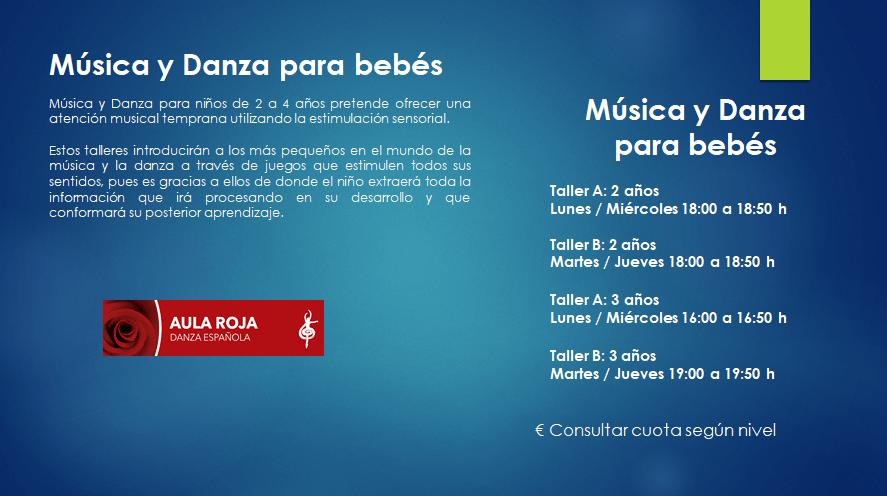 Música y danza para bebés